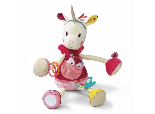 Развивающая игрушка Lilliputiens «Единорожка Луиза», фото