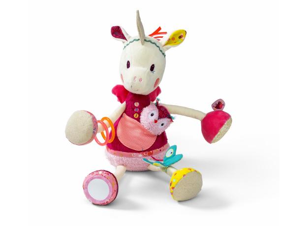 Развивающая игрушка Lilliputiens «Единорожка Луиза», фото , изображение 2
