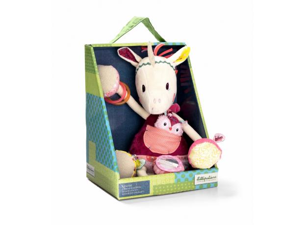 Развивающая игрушка Lilliputiens «Единорожка Луиза», фото , изображение 3