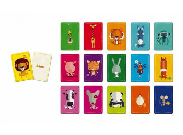 Настольная игра Janod «Слова» на запоминание, фото , изображение 3