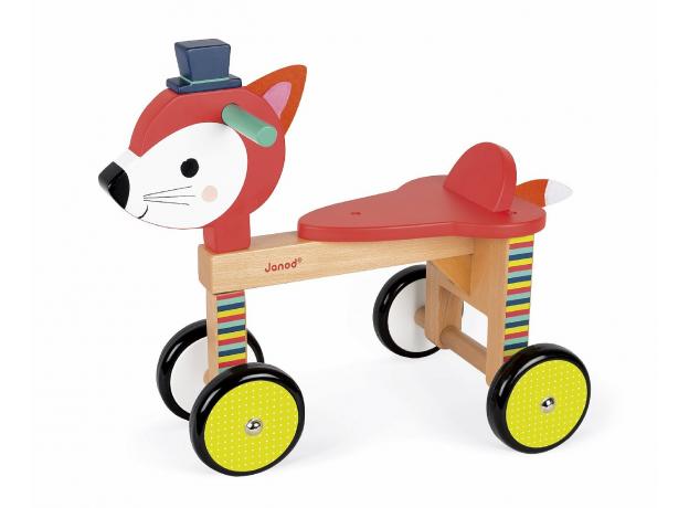 Каталка на колёсиках Janod «Лисичка», фото , изображение 7