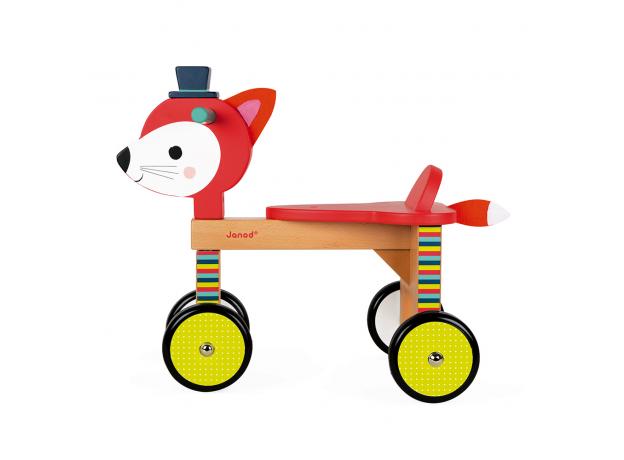 Каталка на колёсиках Janod «Лисичка», фото , изображение 3