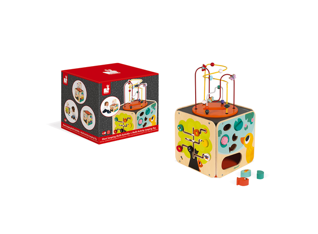Развивающий куб Janod с комплектом игр: 8 видов активностей, фото , изображение 11