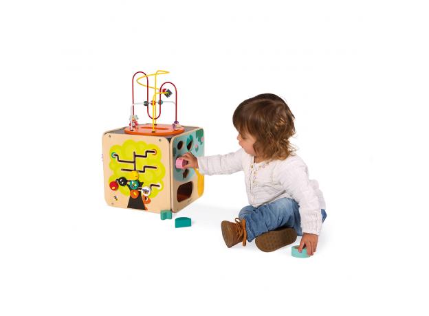 Развивающий куб Janod с комплектом игр: 8 видов активностей, фото , изображение 4