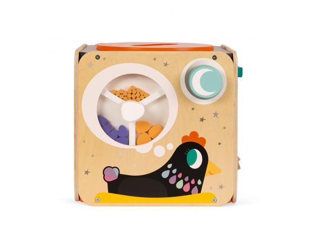 Развивающий куб Janod с комплектом игр: 8 видов активностей, фото , изображение 7