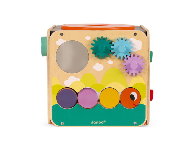Развивающий куб Janod с комплектом игр: 8 видов активностей, фото , изображение 8