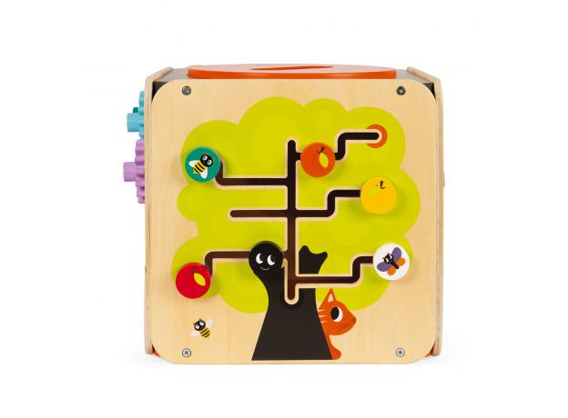 Развивающий куб Janod с комплектом игр: 8 видов активностей, фото , изображение 10