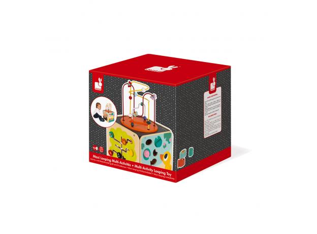 Развивающий куб Janod с комплектом игр: 8 видов активностей, фото , изображение 12