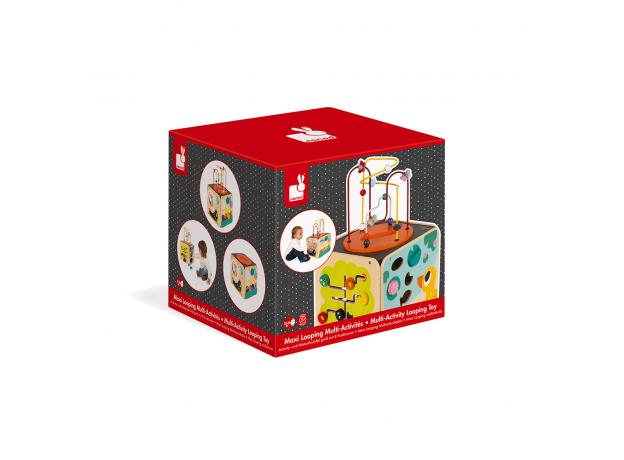 Развивающий куб Janod с комплектом игр: 8 видов активностей, фото , изображение 13