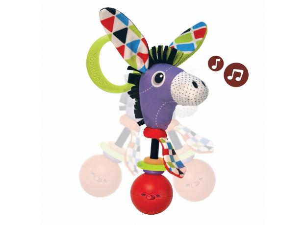 Музыкальная погремушка Yookidoo «Ослик», фото
