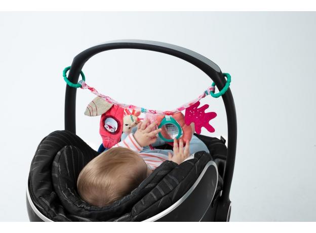 Развивающая игрушка на липучке Lilliputiens Lilliputiens «Единорожка Луиза», фото , изображение 3