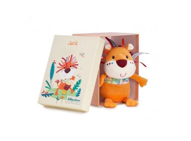 Мягкая игрушка Lilliputiens «Лев Джек»; подарочная упаковка, фото , изображение 2