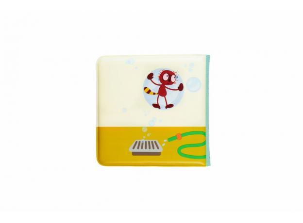 Книжка для ванны Lilliputiens «Лемур Джордж», фото , изображение 9