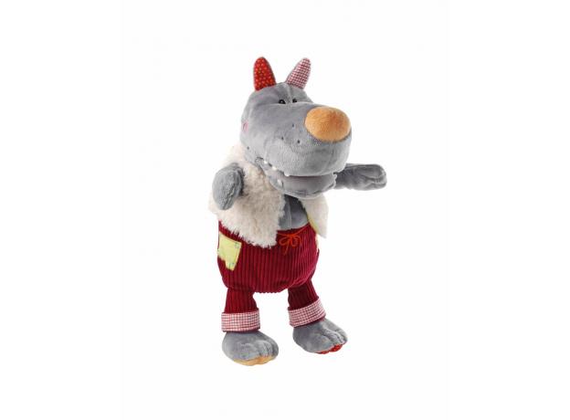 Пальчиковые игрушки Lilliputiens: Волк и три поросенка, фото , изображение 2