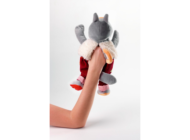 Пальчиковые игрушки Lilliputiens: Волк и три поросенка, фото , изображение 4