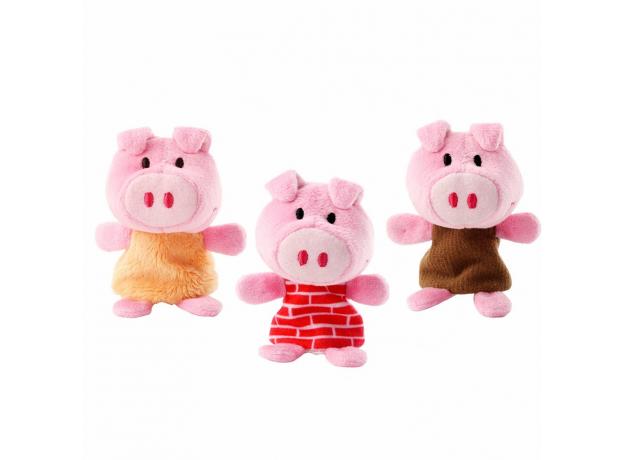 Пальчиковые игрушки Lilliputiens: Волк и три поросенка, фото , изображение 6