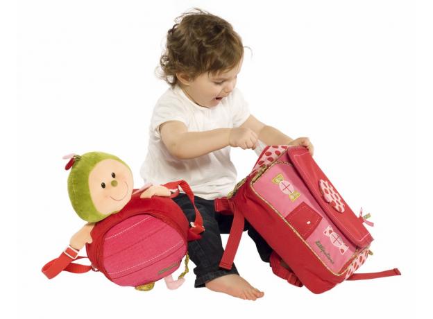 Школьный рюкзак Lilliputiens «Божья коровка Лиза», фото , изображение 5