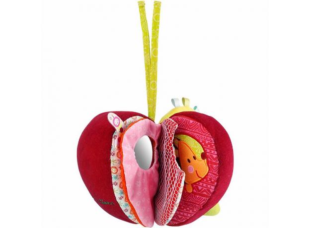 Развивающее яблоко Lilliputiens «Гусеница Джульета», фото , изображение 2