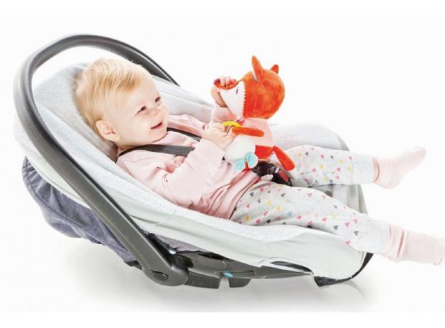 Развивающая игрушка на липучке Lilliputiens «Лиса Алиса», фото , изображение 4