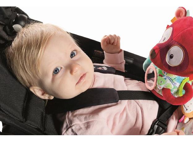 Развивающая игрушка Lilliputiens «Лемур Джордж» на липучке, фото , изображение 5