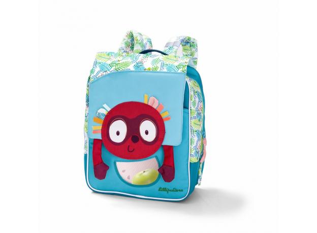 Рюкзак дошкольный Lilliputiens А5 «Лемур Джордж», фото