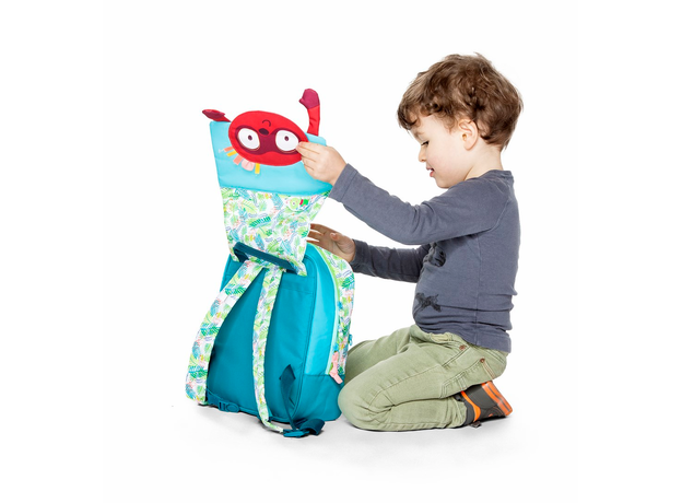 Рюкзак дошкольный Lilliputiens А5 «Лемур Джордж», фото , изображение 4