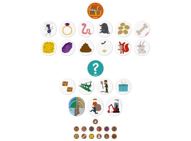Игра настольная Janod «Сокровища в саду», фото , изображение 5