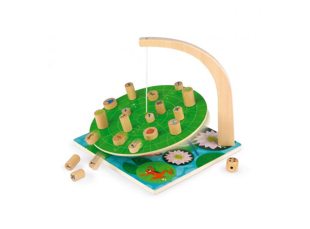 Настольная игра Janod на баланс «Лист кувшинки», фото