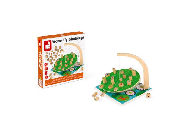 Настольная игра Janod на баланс «Лист кувшинки», фото , изображение 8
