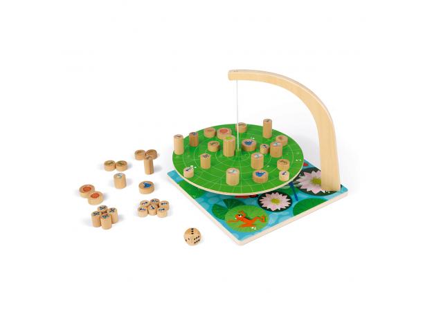 Настольная игра Janod на баланс «Лист кувшинки», фото , изображение 2