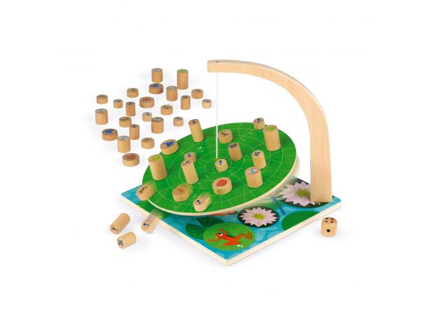 Настольная игра Janod на баланс «Лист кувшинки», фото , изображение 3