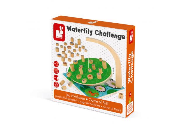 Настольная игра Janod на баланс «Лист кувшинки», фото , изображение 9