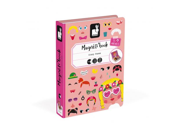 Книга-игра Janod «Смешные девчонки» магнитная, фото , изображение 6