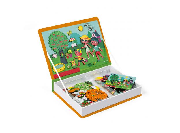 Книга-игра Janod «Времена года» магнитная, фото , изображение 2