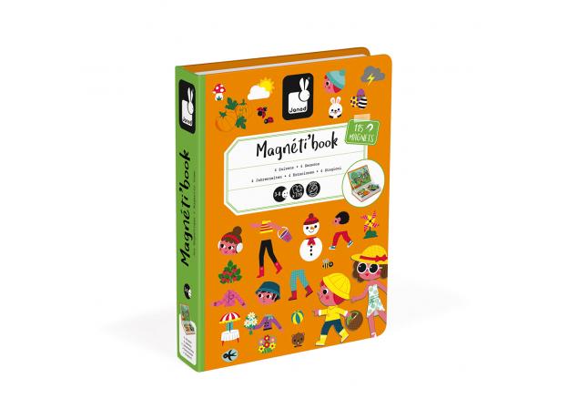 Книга-игра Janod «Времена года» магнитная, фото , изображение 6