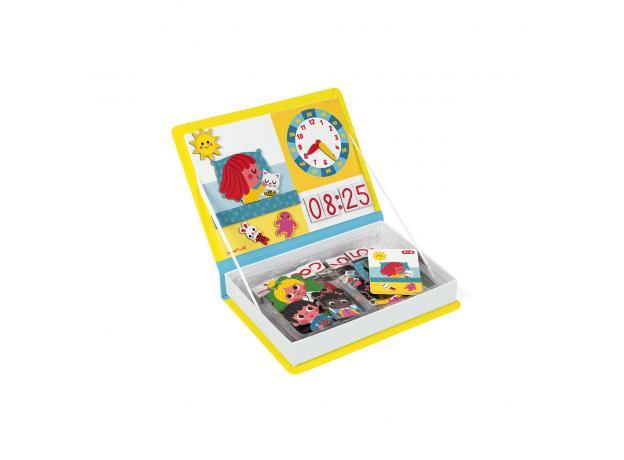 Книга-игра Janod «Учим время» магнитная, фото , изображение 3