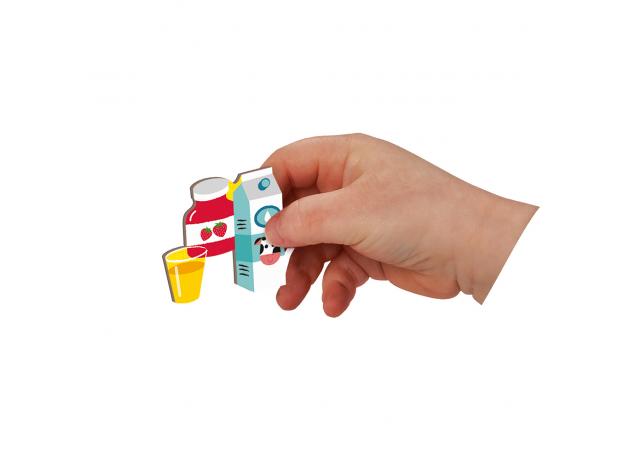 Книга-игра Janod «Учим время» магнитная, фото , изображение 5