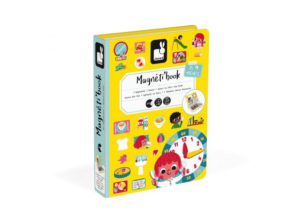 Книга-игра Janod «Учим время» магнитная, фото , изображение 6