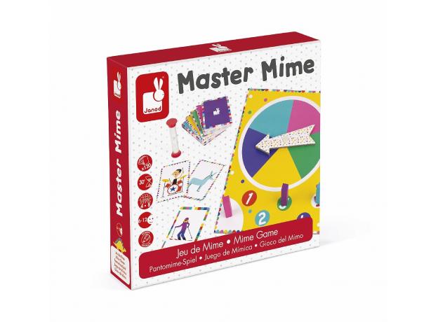 Настольная игра Janod «Мастер Мим», фото , изображение 9
