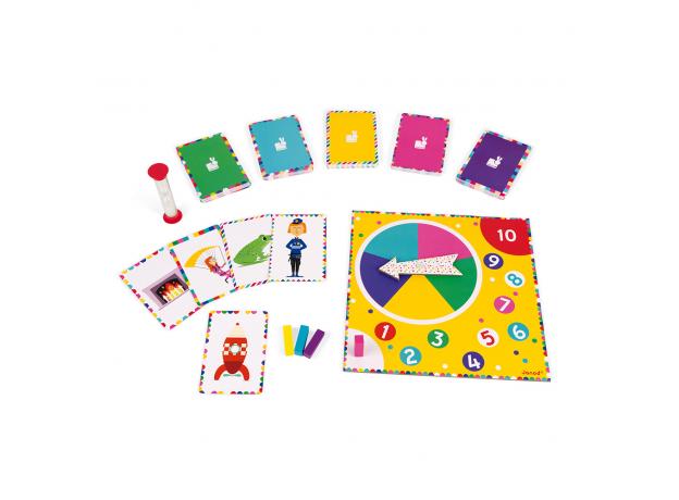 Настольная игра Janod «Мастер Мим», фото , изображение 4