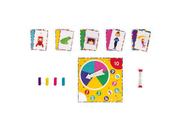 Настольная игра Janod «Мастер Мим», фото , изображение 5