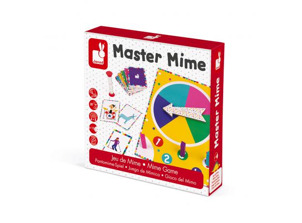 Настольная игра Janod «Мастер Мим», фото , изображение 10