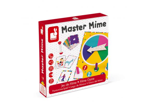 Настольная игра Janod «Мастер Мим», фото , изображение 11
