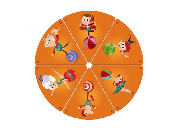 Настольная игра Janod «Счастливые семейки: цирк», фото , изображение 5
