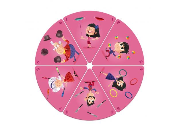 Настольная игра Janod «Счастливые семейки: цирк», фото , изображение 6