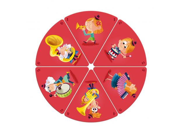 Настольная игра Janod «Счастливые семейки: цирк», фото , изображение 8