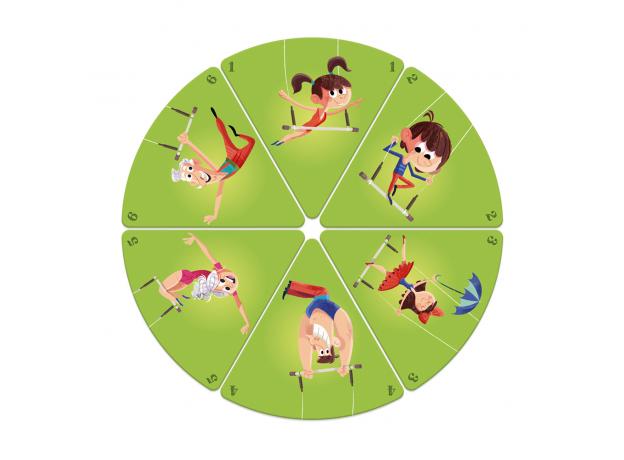 Настольная игра Janod «Счастливые семейки: цирк», фото , изображение 9