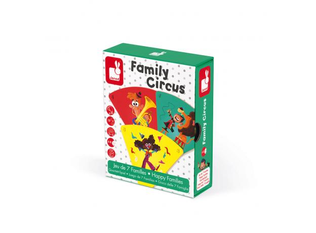 Настольная игра Janod «Счастливые семейки: цирк», фото , изображение 10