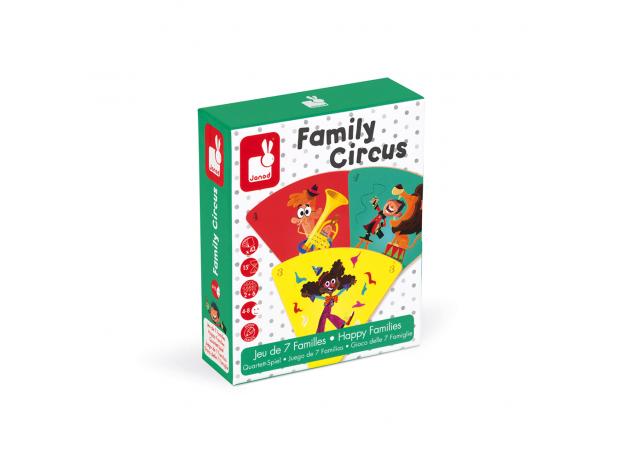 Настольная игра Janod «Счастливые семейки: цирк», фото , изображение 11