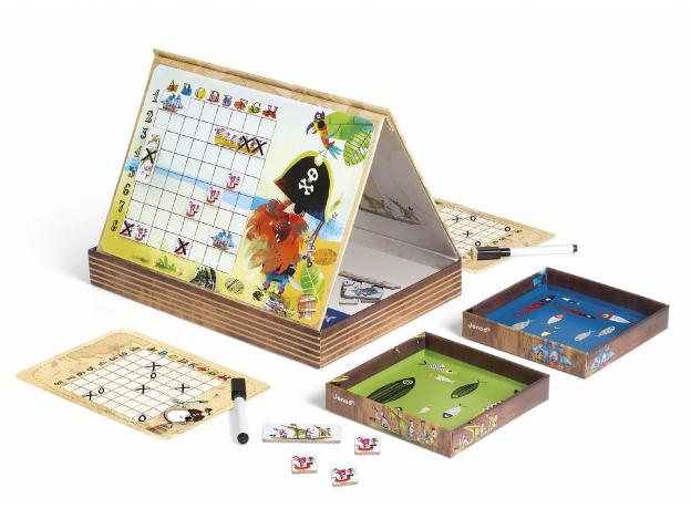 Настольная магнитная игра Janod «Морской бой», фото , изображение 2